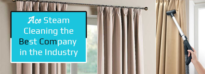 Curtain Steam Cleaning  Mount Clear
