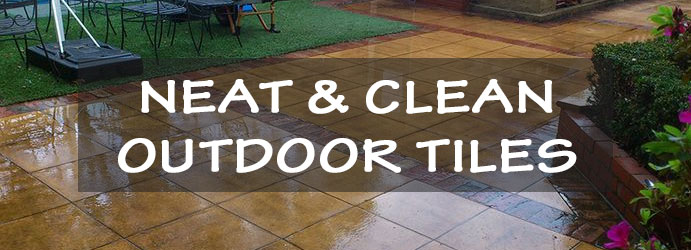 Neat and Clean Outdoor Tiles Canberra